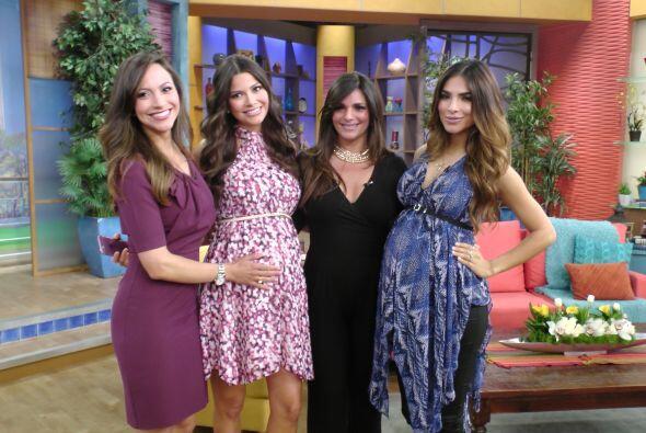Y Satcha dijo que las embarazadas tenían una luz muy especial.