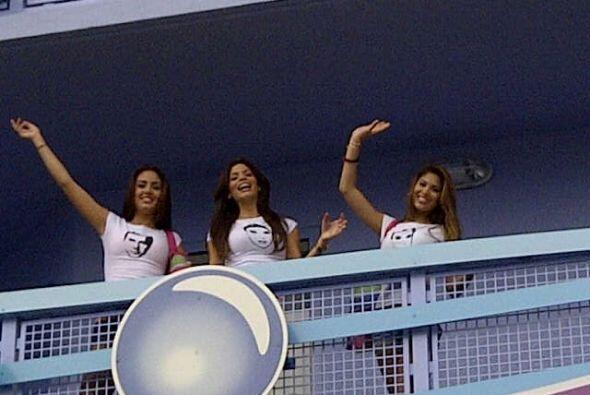 Audris, Odaray, Bárbara Turbay, Marina, Essined y Viviana compart...