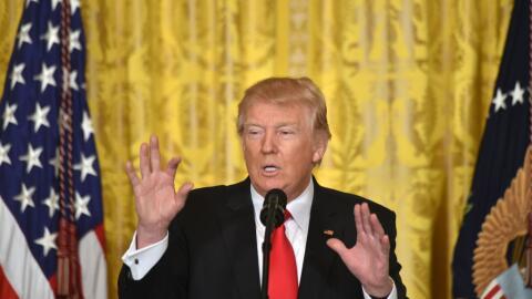 Trump lució más moderado frente a qué hacer con los...