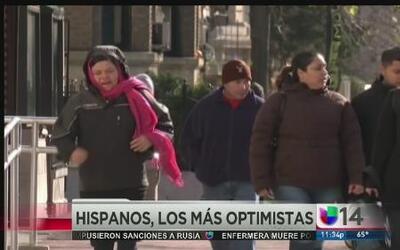 Los hispanos son los más optimistas