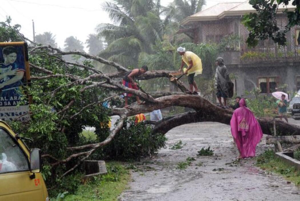 El martes, las autoridades de Filipinas tenían en unas 200 personas la c...
