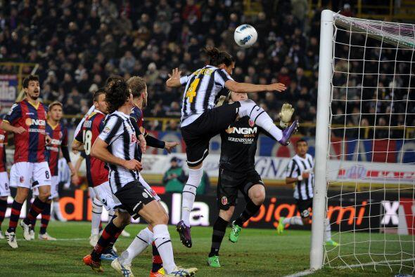 La 'Juve' se fue en busca del empate y estuvo muy cerca. El uruguayo C&a...