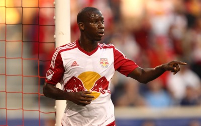 Bradley Wright-Phillips celebra su gol