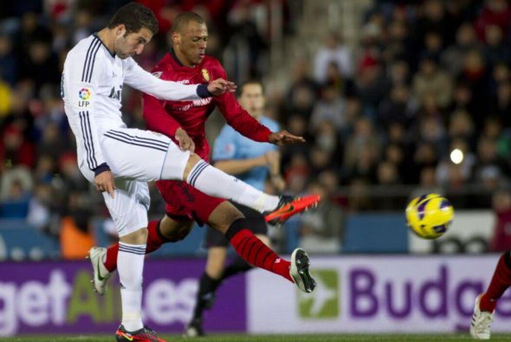 El Madrid estaba generando el juego necesario para superar al Mallorca.