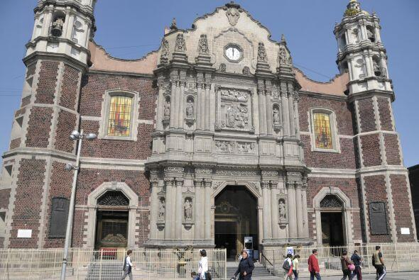 El Templo Expiatorio a Cristo Rey es mejor conocido como la Antigua Basí...