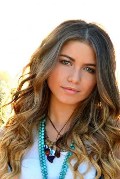 Sofía Reyes es una chica mexicana que canta en inglés y en español.