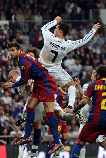 Cristiano Ronaldo buscó siempre ser protagonista, aunque lo logró más a...