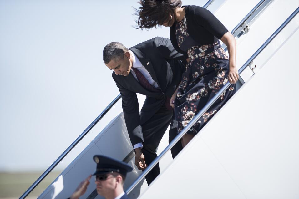 Michelle y Barack Obama: los amantes de la Casa Blanca GettyImages-48352...