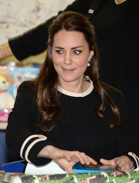 La duquesa de Cambridge no dejó de sorprenderse con las travesura...