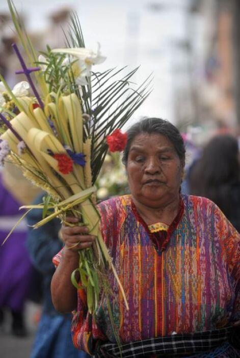 En el Domingo de Ramos se conmemora la entrada triunfal de  Jesús a Jeru...