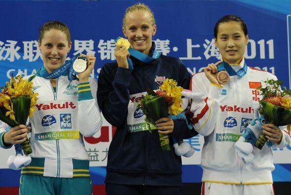 Vollmer batió a la australiana Alicia Couts y a la china Lu Ying, plata...