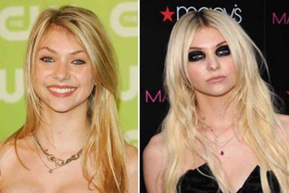 El exceso de maquillaje y el cambio de actitud hicieron del angelito que...