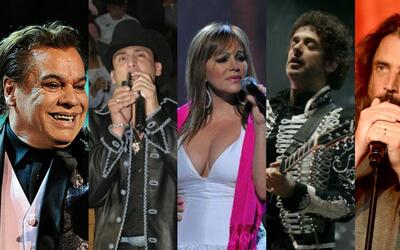 Juan Gabriel, Valentín Elizalde, Jenni Rivera, Gustavo Cerati, Ch...