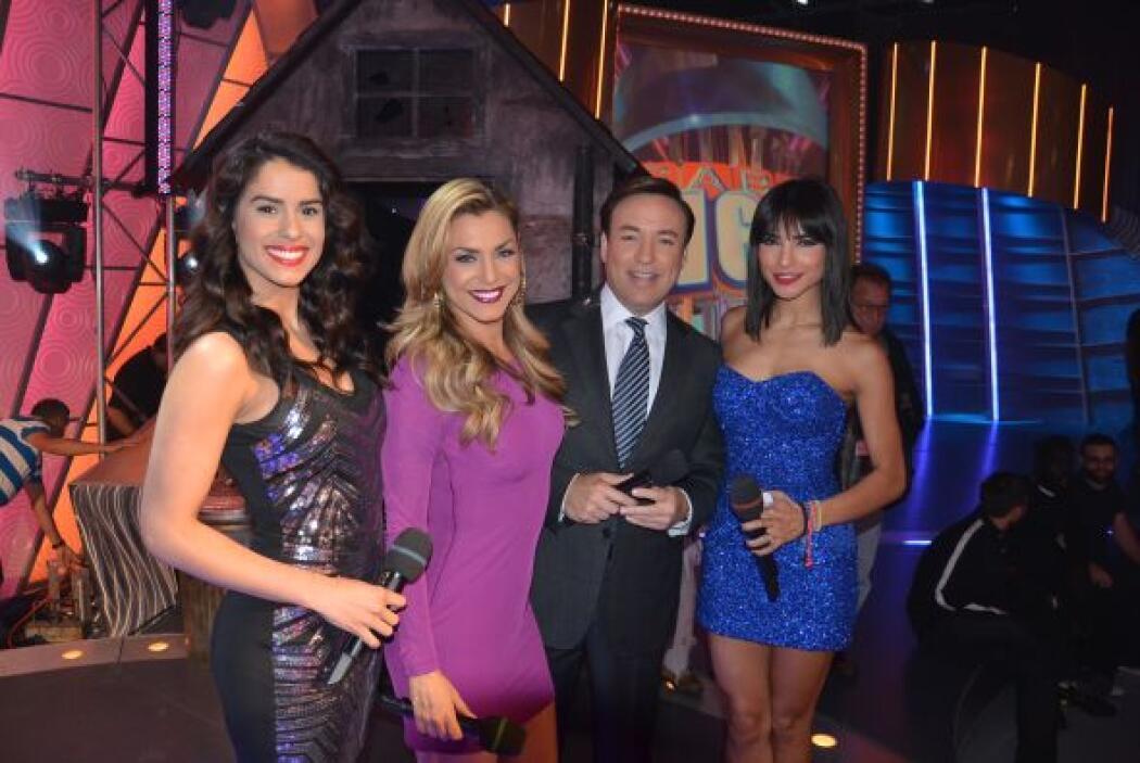 Rosina, Vanessa, Alejandra y Javier hicieron un equipo de trabajo que qu...