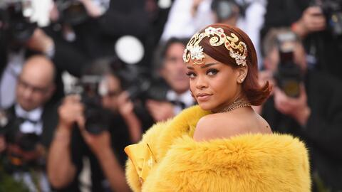 Rihanna en la gala de beneficencia  'China: Through The Looking Glass'