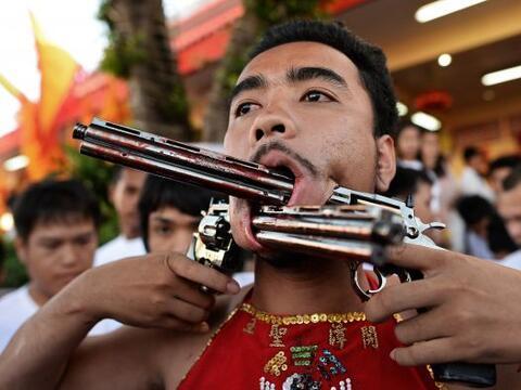 Durante nueve días seguidos, Tailandia se convierte en un para&ia...
