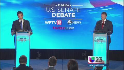 Lleno de ataques el primer debate entre Marco Rubio y Patrick Murphy