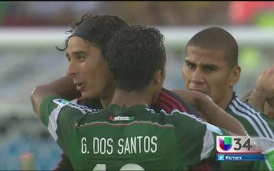 Emotiva victoria de México en Brasil