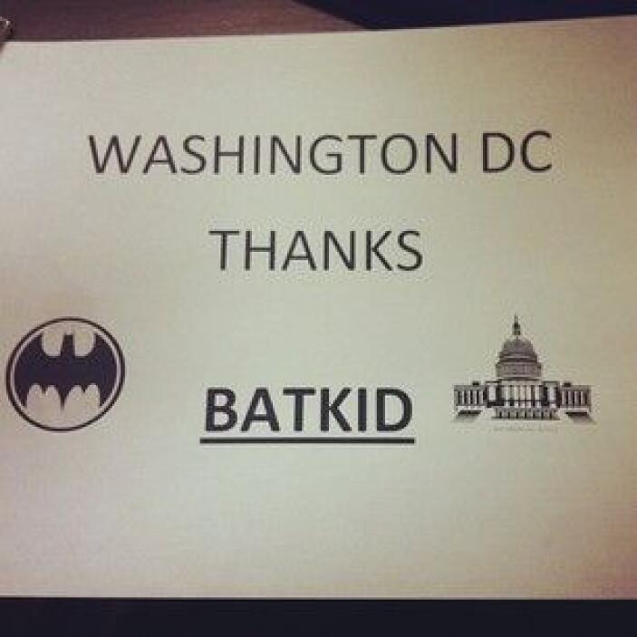 Otras ciudades de Estados Unidos se unieron a la causa. Usuario @garyjs....