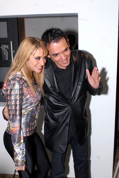 El esposo de la artista, Jorge Reynoso, quien también hacía el papel de...