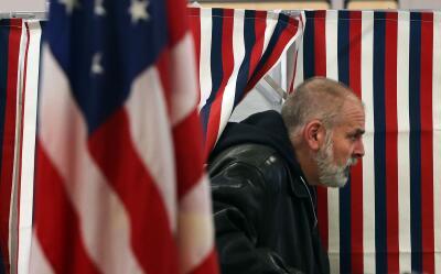 Votante en New Hampshire
