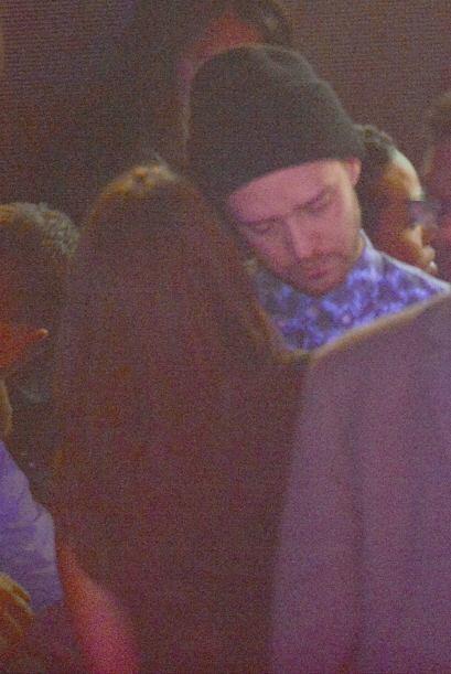 Justin Timberlake se fue con su trigueña, salieron juntos a muy altas ho...