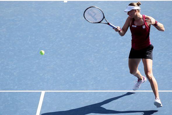 Esta semifinal fue increíble ya que Kvitova dominaba en la primer...