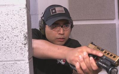 Usar armas de fuego para defenderse de los ladrones de vivienda se ha co...