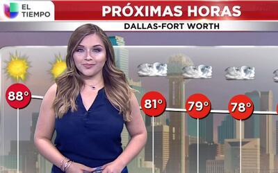 'Dallas en un Minuto': día ventoso y caluroso en Dallas