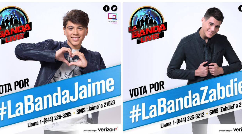 Vota por Zabdiel y Jaime