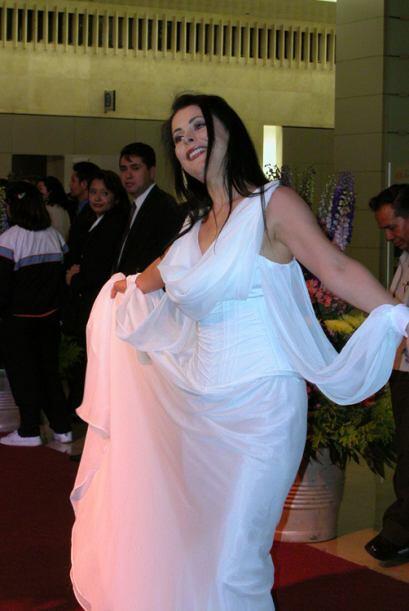 A Lourdes Mungía la llaman La Gritona, pero no sé porqu&ea...