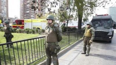 Los tres detenidos fueron remitidos a la justicia chilena, mientras que...