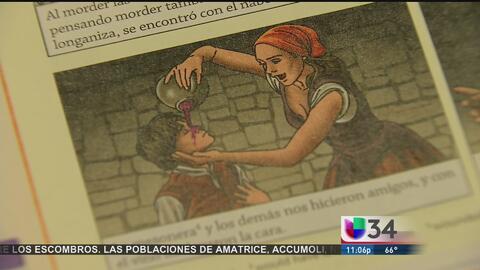 Padres denuncian material 'ofensivo' en libros para aprender el español