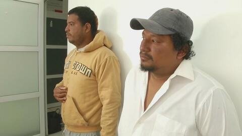 En su intento de alcanzar el sueño americano, unos migrantes ecuatoriano...