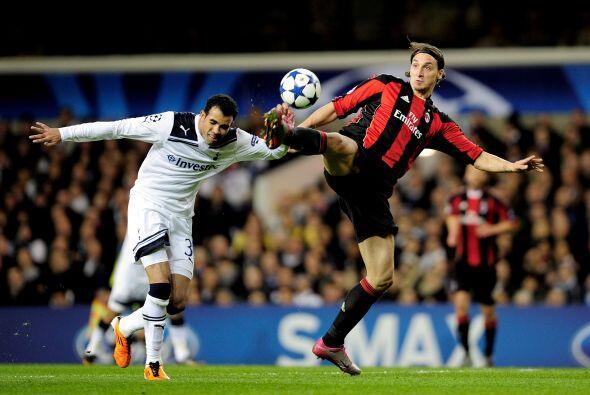 Milan visitó el campo del Tottenham, después de haber caído 1-0 en la Ida.