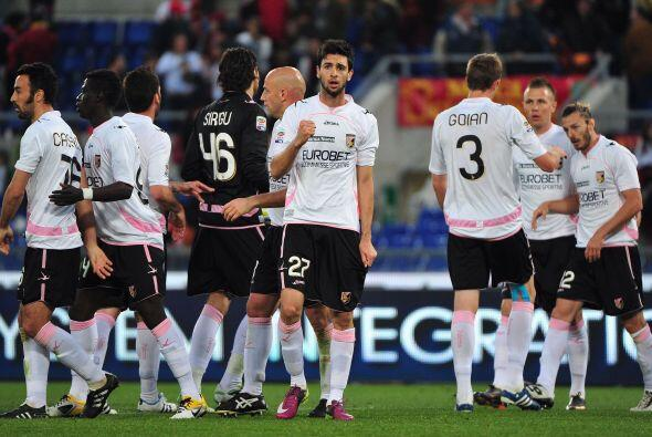 Palermo le ganó de visitante a la Roma y se prende en la lucha.