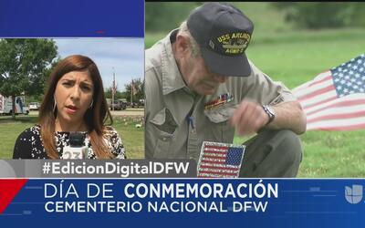 Autoridades en Dallas realizan eventos por el Día de Recordación