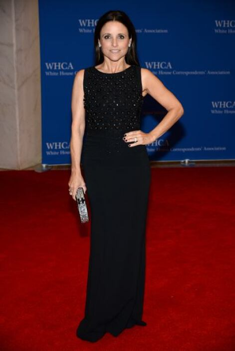 "Julia Louis-Dreyfus, quien interpreta a la vicepresidenta en ""Veep"". Mir..."