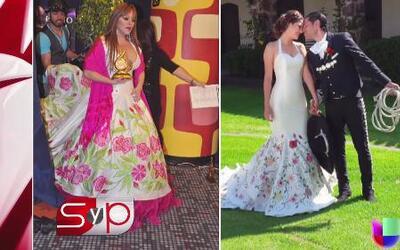 El vestido de Ana Patricia causó controversia entre los fanáticos de Jen...
