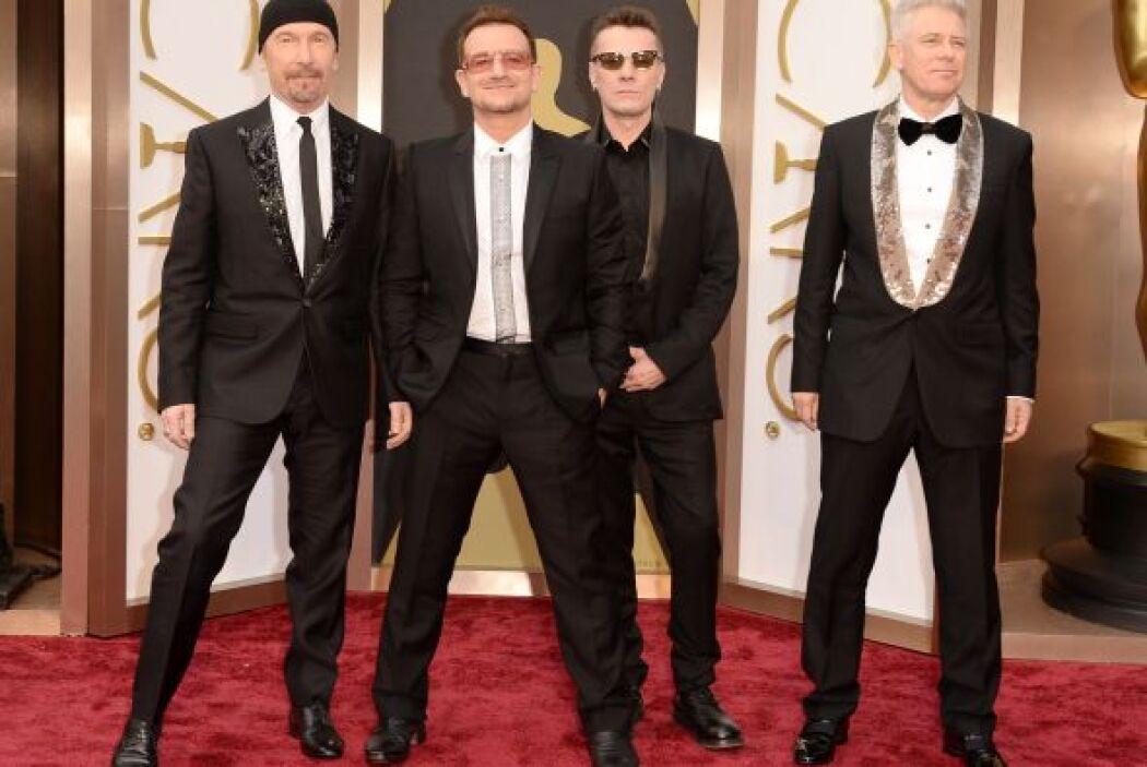 Pese a ya ser unos maduritos de la música, U2 sigue estando en el gusto...
