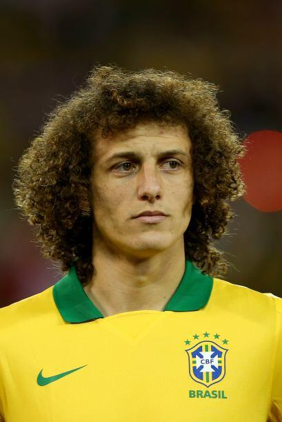 David Luiz:El defensa del pentacampeón mundial luce una cabellera esponj...