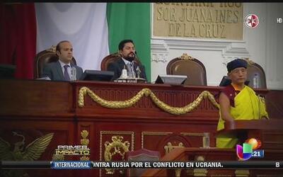 Legisladores mexicanos intentaron poner su mente en paz con meditación