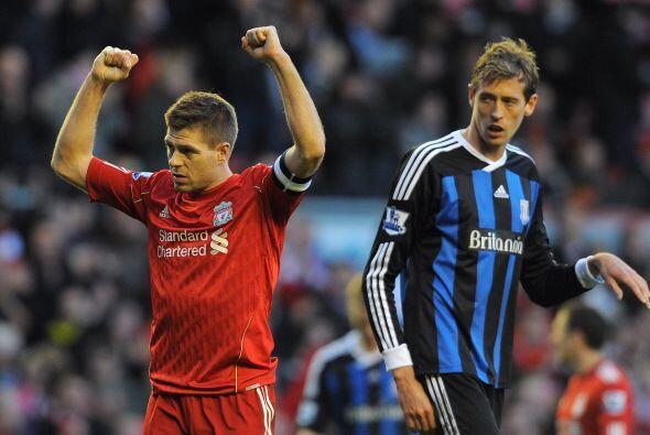 No hubo más anotaciones por ninguno de los equipos y Liverpool, con el t...