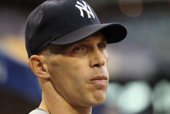 El timonel de los Yankees, Joe Girardi, ahora espera un triunfo de su eq...