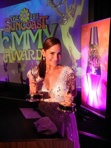 Leana ganó 2 Emmy de la academia Americana de Televisión.