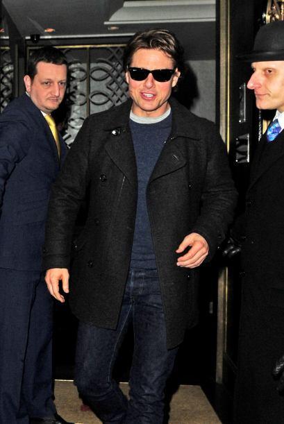 Así es, Tom Cruise pudo reencontrarse con su ex Penélope C...