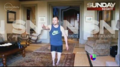 Video filtrado muestra a Oscar Pistorius recreando el asesinato de su novia