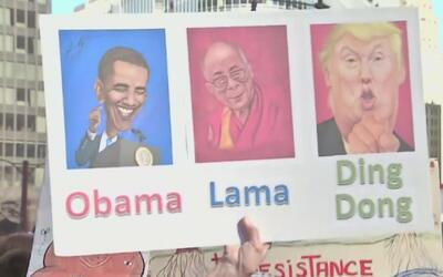 Protestas en Chicago a un mes de la llegada de Trump a la presidencia
