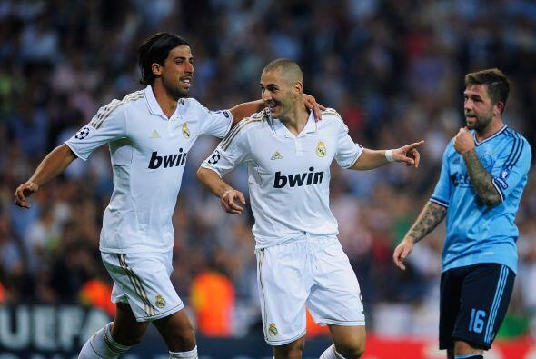 Y faltaba el último tanto de la noche. Karim Benzemá marc&...