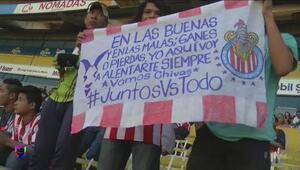 La afición Chiva se 'adueña' del Jalisco